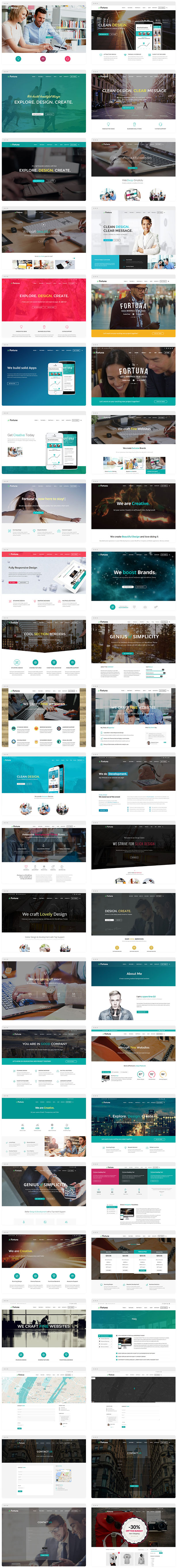 Fortuna--Responsive-Multi-Purpose-WordPress-Theme sell and but achat et vente des themes cms wordpress prestashop all cms themes and plugins dci marketpalce