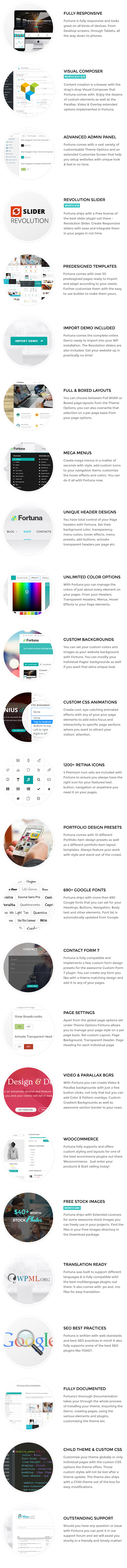 Fortuna--Responsive-Multi-Purpose-WordPress-Theme sell and but achat et vente des themes cms wordpress prestashop all cms themes and plugins features