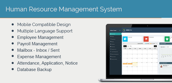 Human Resource Management System Web App Dci
