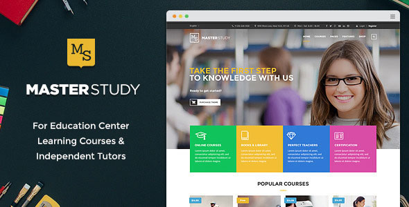 Masterstudy-v1.0-----Education-Center-WordPress-Theme