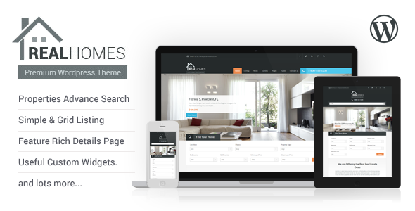 Real Homes – Real Estate Theme - DCI Marketplace | MarketPlace for ...