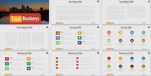 trust business powerpoint presentation template dci marketplace