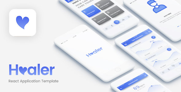 Healer - React Native App (Android/iOS) - DCI Marketplace | MarketPlace for  virtual exchange
